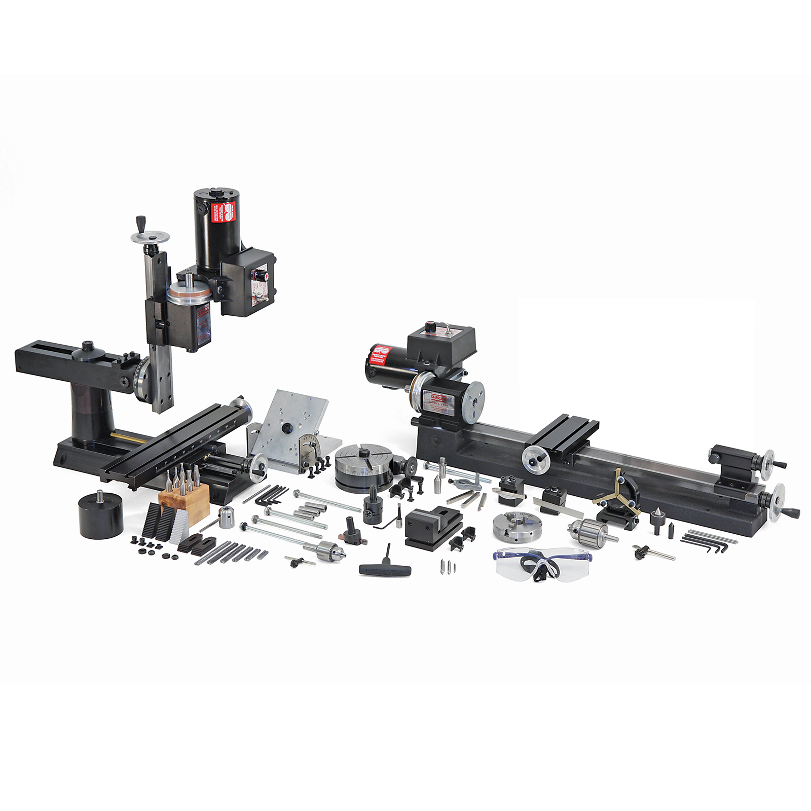 Sherline 8 Direction Ultimate Machine Shop Package