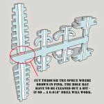 O scale Utility Pole Set Ver 3