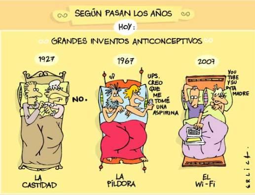 La historia de los métodos anticonceptivos
