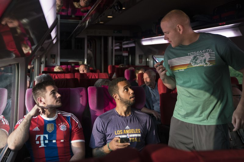 Estrenos: crítica de «15:17 Tren a París», de Clint Eastwood