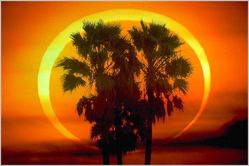 Resultado de imagen para eclipse de sol del 26