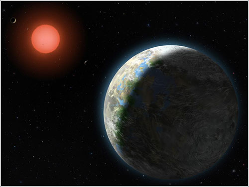 Gliese 581g por Lynette Cook