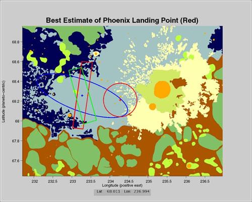 Zona de aterrizaje de la MPL