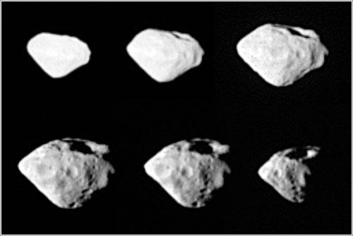 Steins visto por Rosetta - ESA