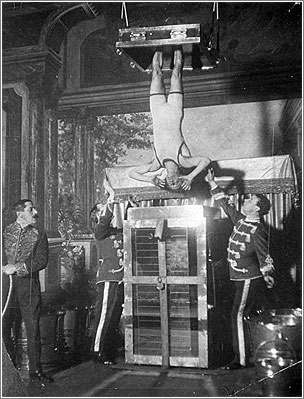 Harry Houdini. La vida del escapista y mago