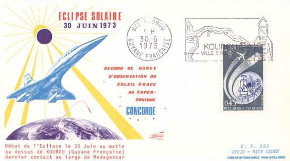 Postal y sello conmemorativos del vuelo