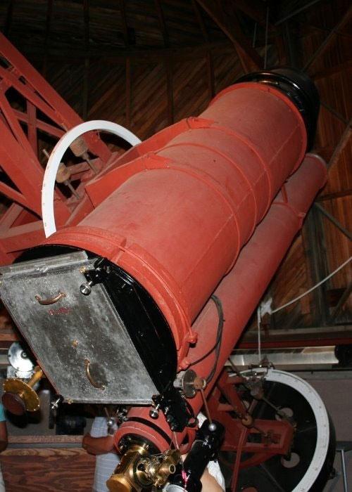 Estado actual del telescopio