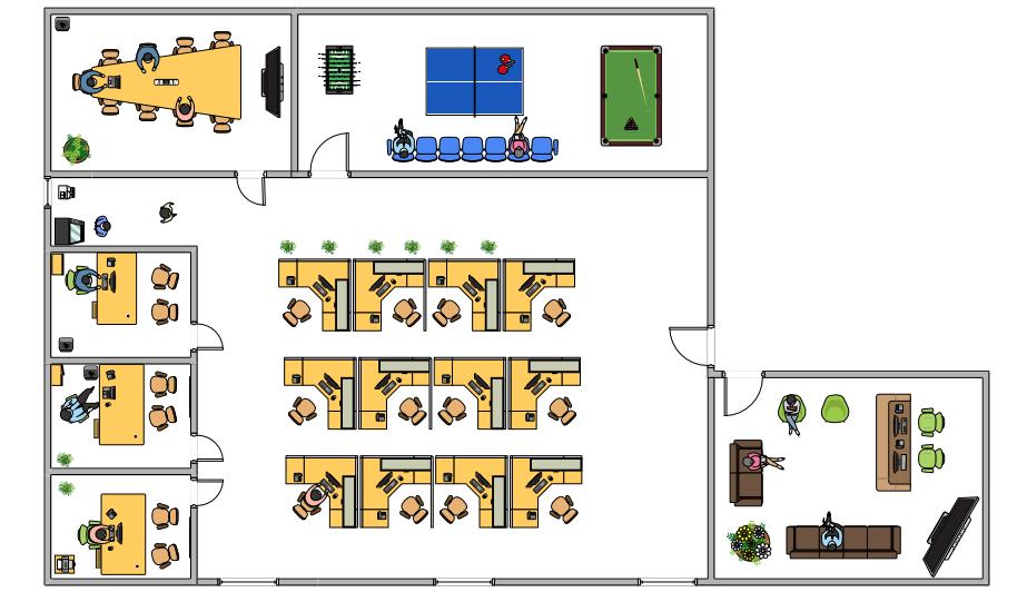 Excel Floor Plan Symbols