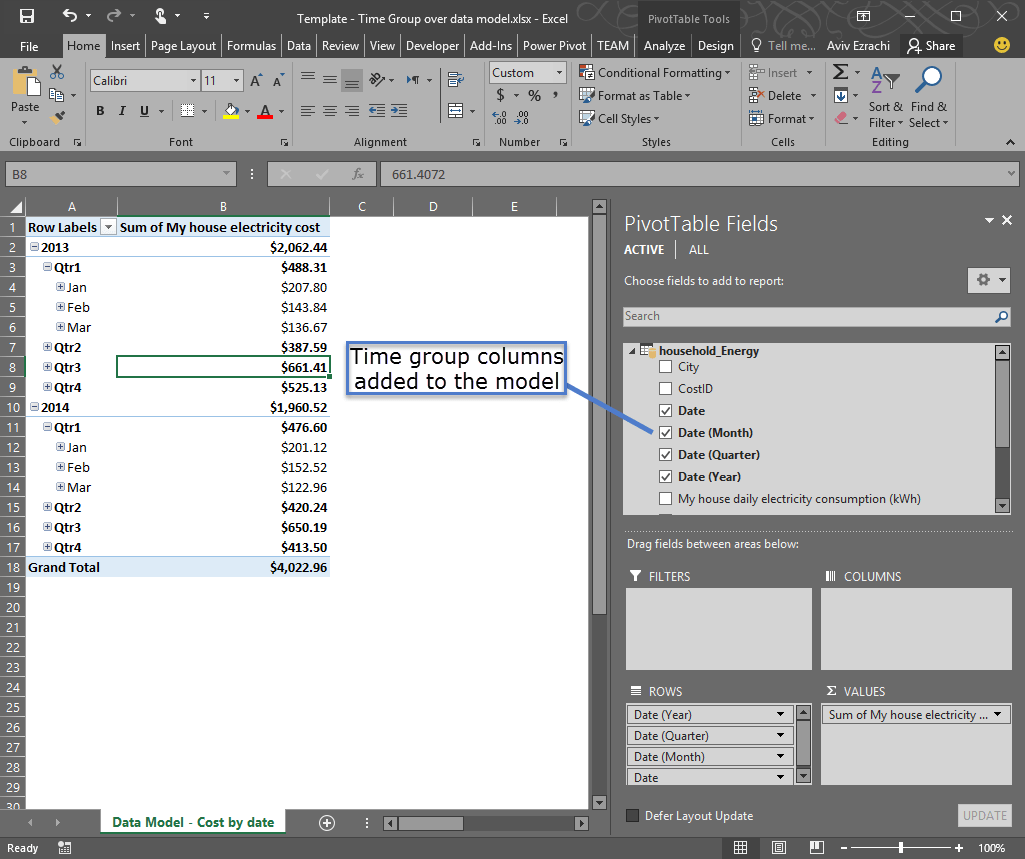 Time Grouping Enhancements In Excel