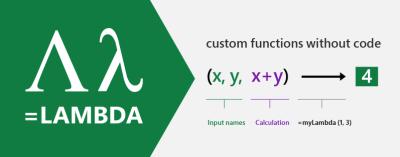 LAMBDA in Excel