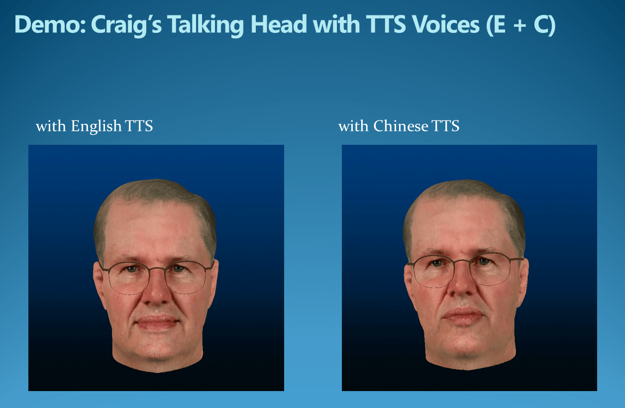 Photo Real Talking Head
