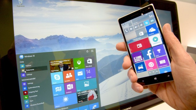 Windows Mobile 10 juno a su homonimo de PC
