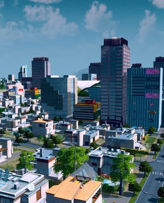 Ciudad en Cities: Skylines
