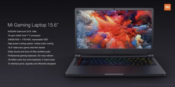 Xiaomi Gaming Notebook resumen