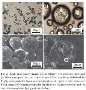Nanocomposite Multihollow Microspheres