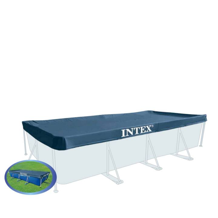 bache pour piscine intex rectangulaire 450 x 220 cm