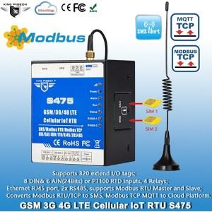 Dual Sim card GSM IoT Remote Terminal Unit S475
