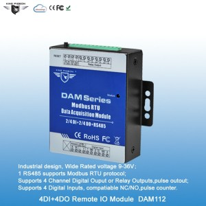 4DI+4DO Remote Data Acquisition Module