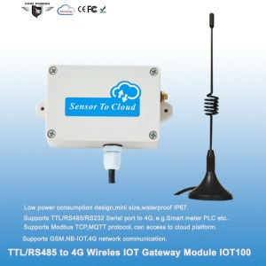 RS485 to 4G IoT Gateway