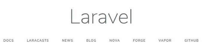 Accueil Laravel 6