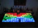 LED bar displaying a pattern