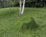 Completed grass chair