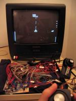 Home built PIC microcontroller game machine