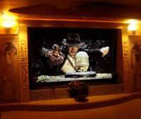 Indiana Jones themed home theatre