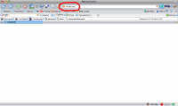 Using a FireFox quick search