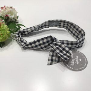 cinta de pelo cuadros vich