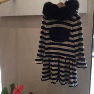 vestido rayas de bella bimba