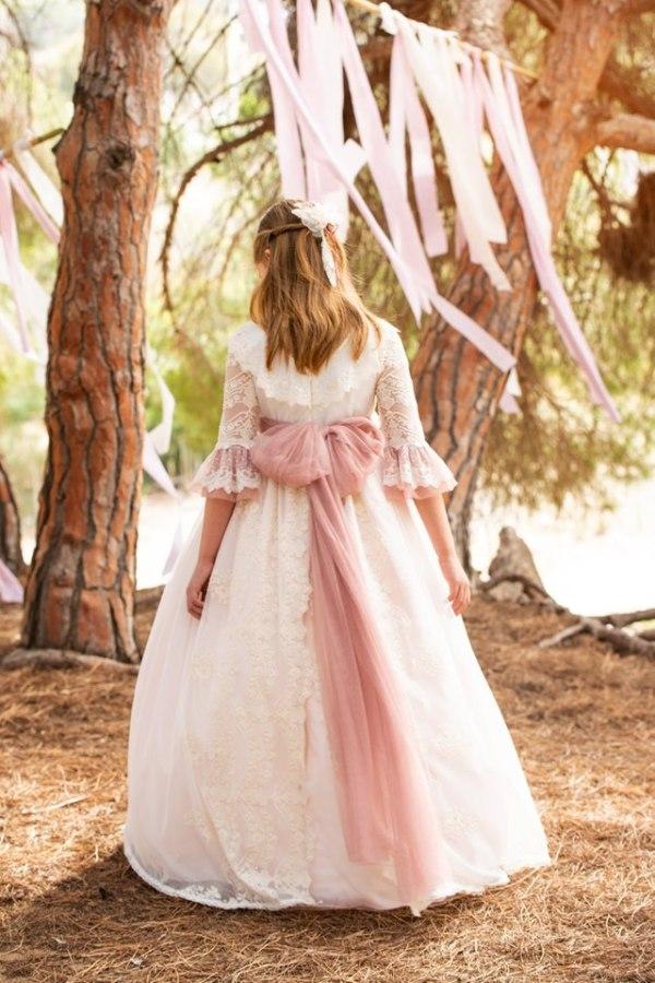 vestido comunion alhuka