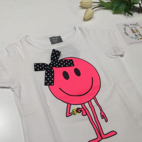 camiseta asic de mon petit bonbon