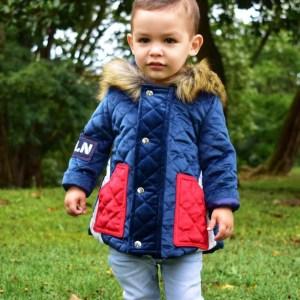 abrigo terciopelo niño de coquelin