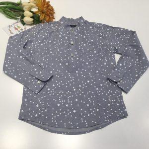 Camisa polera cuello mao estrellas de nachete