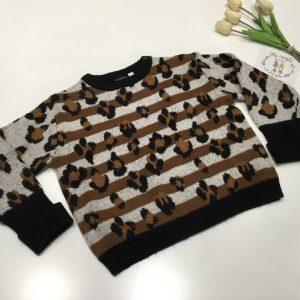 jersey animal print de sarabanda