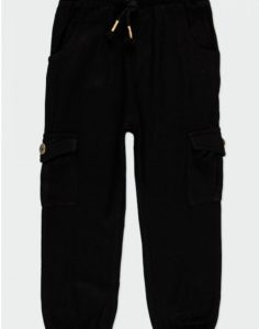 pantalones negros anchos