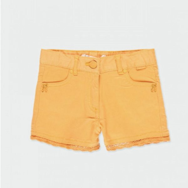pantalon corto naranja