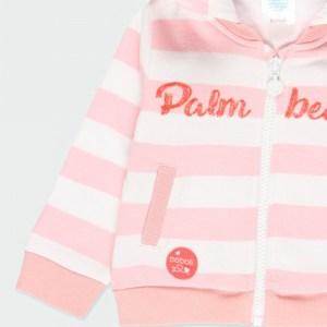 chaqueta de rayas niña