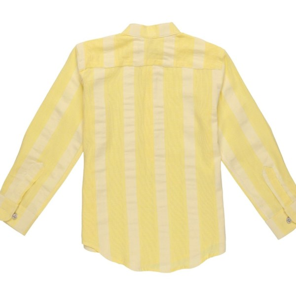 camisa amarilla polera