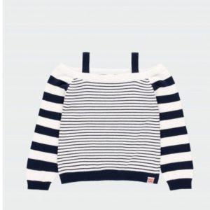 jersey de rayas con tirantes