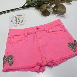 pantalon corto rosa billie blush