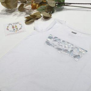 camiseta blanca levis