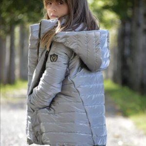 abrigo largo oro viejo de noma fernandez