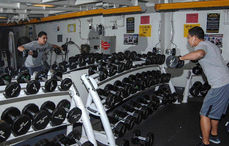Marine Lifting Dumbbells