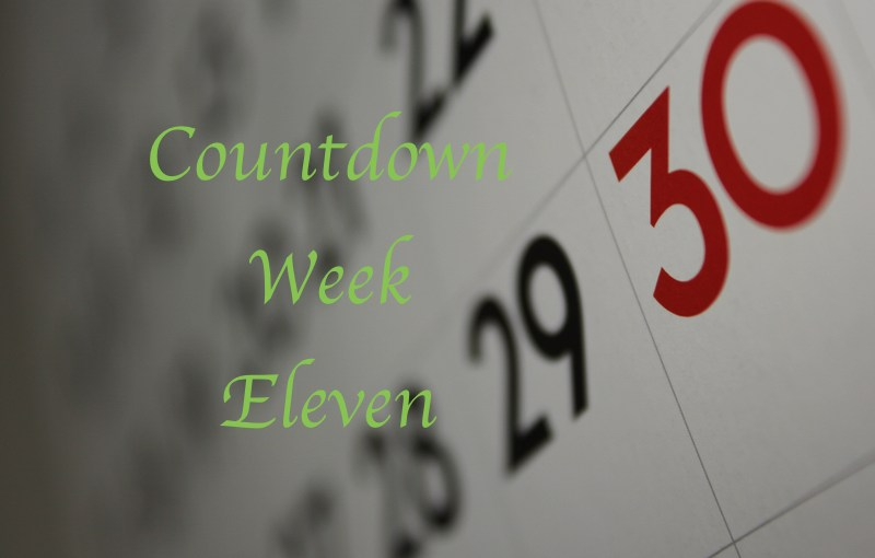 Mike's Countdown To 195:  Week Eleven