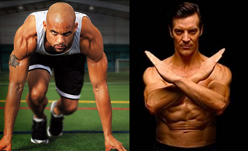 Insanity vs. P90X with Shaun T and Tony Horton pictures