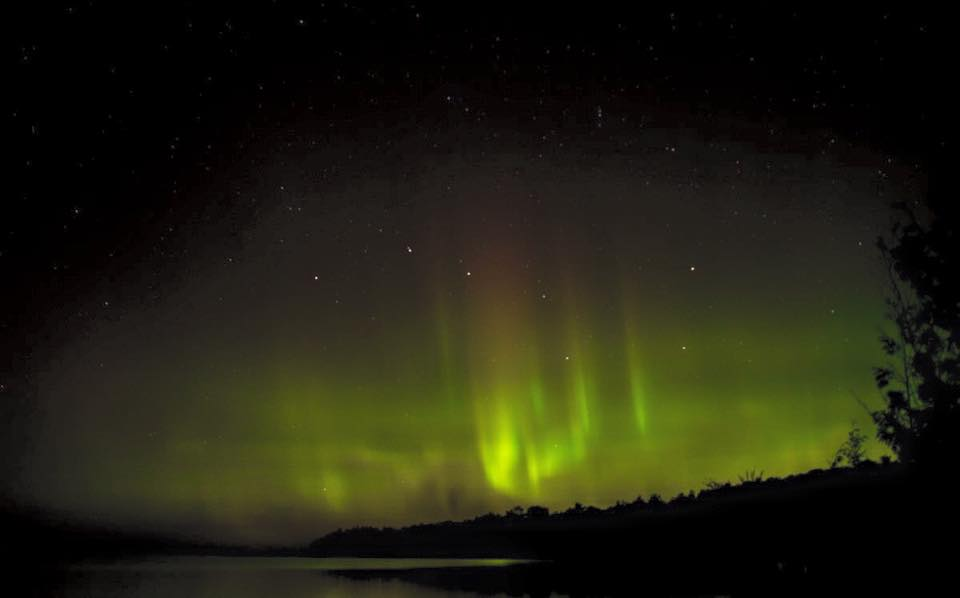 Northern Lights Northern Michigan