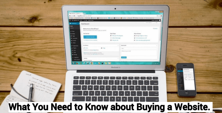 What You Need to Know about Buying a Website