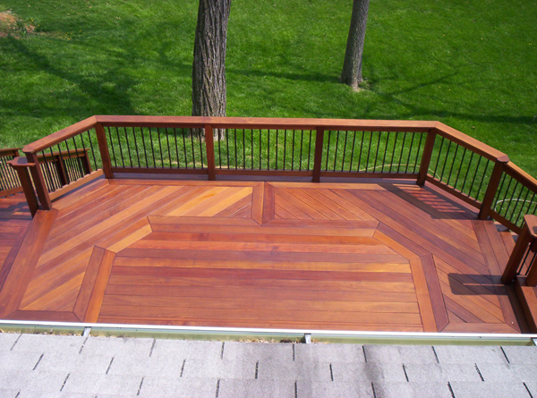 wood deck photos